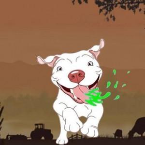puppy-drool