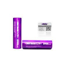 2900 mah purple 18650